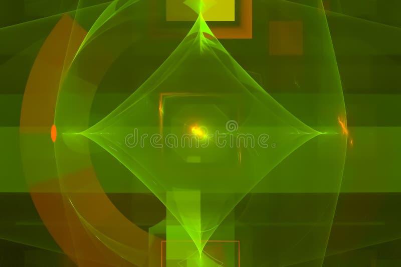 Aktuell samkopieringsmallfantasi, vibrerande rörelseuniversumfractal, utrymme, bakgrund, energi, abstrakt begrepp, design, illust vektor illustrationer
