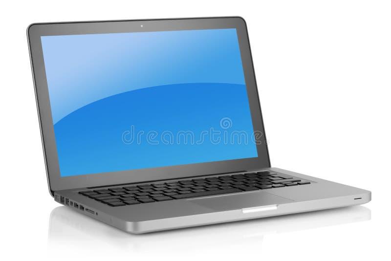 Aktueller Laptop lizenzfreie stockbilder