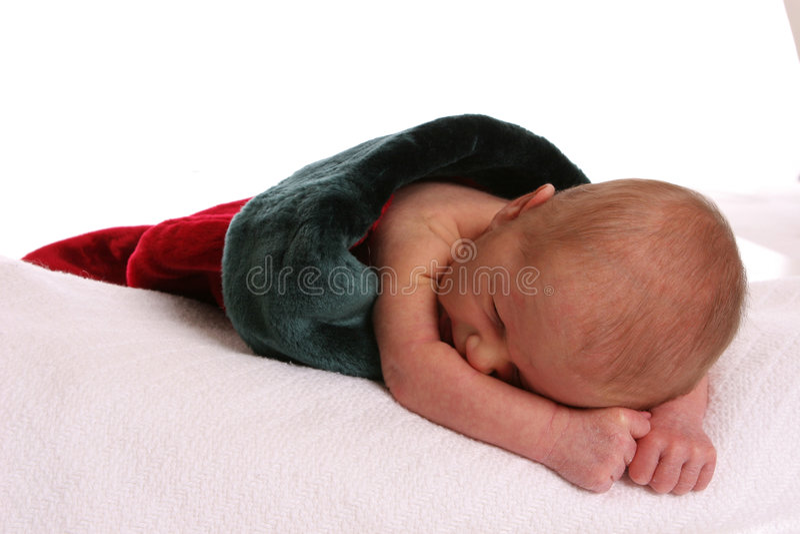 aktuellt spädbarn arkivbild