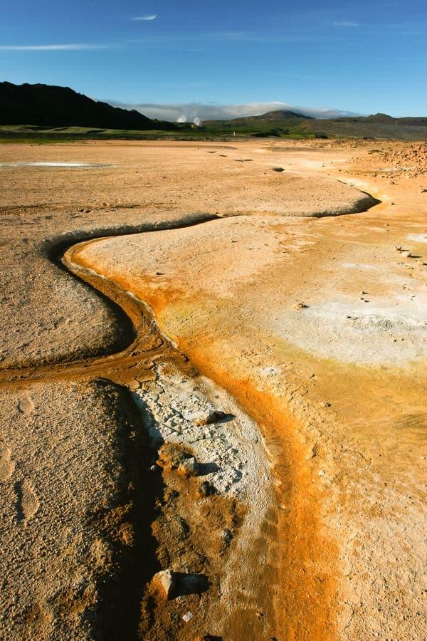 aktywność geotermiczny Iceland fotografia royalty free
