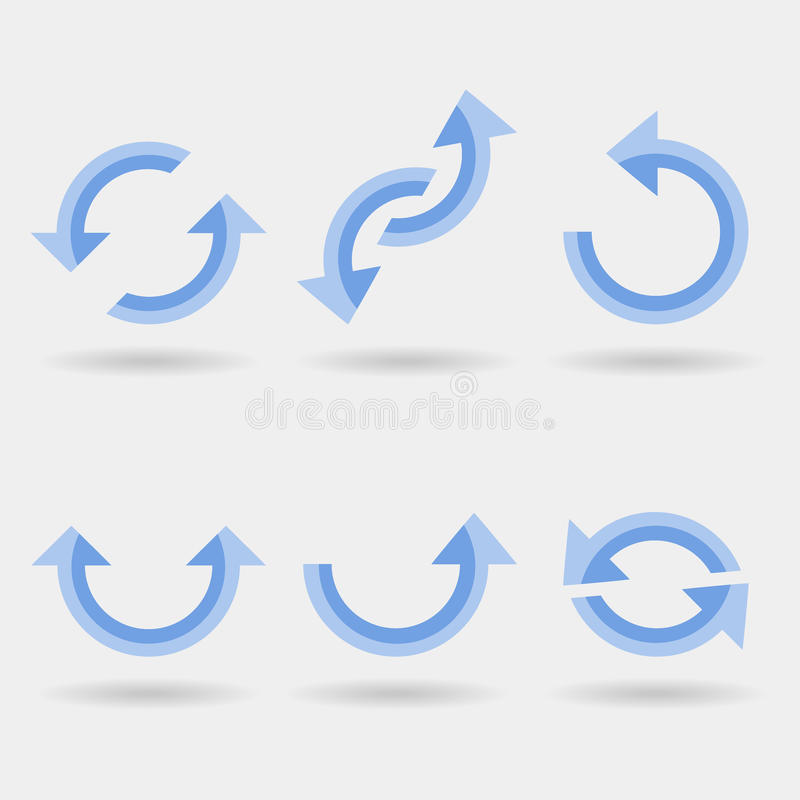 Aktywność strzała ilustracji