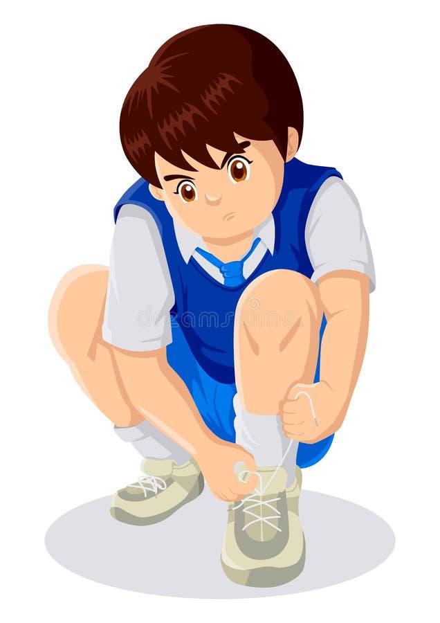 aktywności dziecko royalty ilustracja