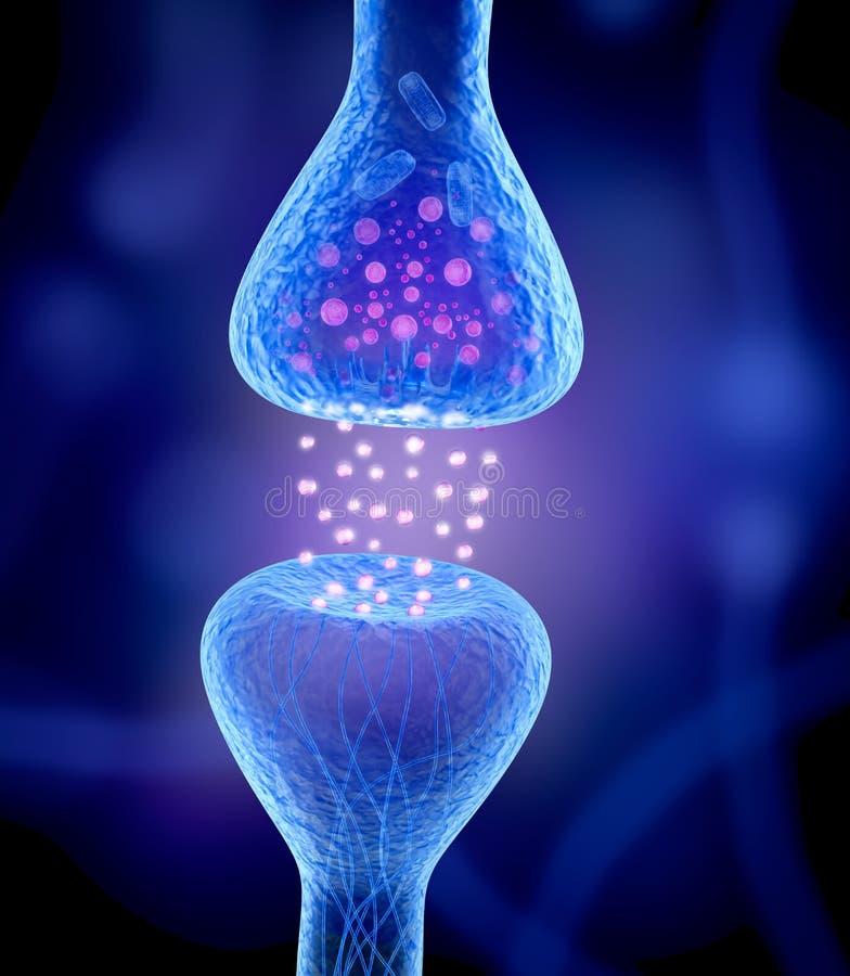 Aktywny receptor odizolowywający ilustracja wektor