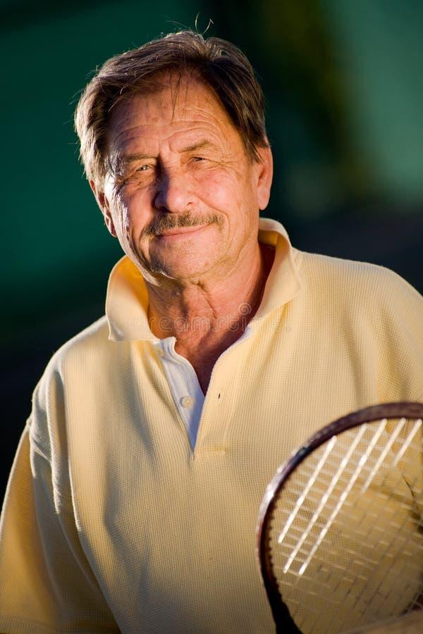 aktywny senior człowieka fotografia stock