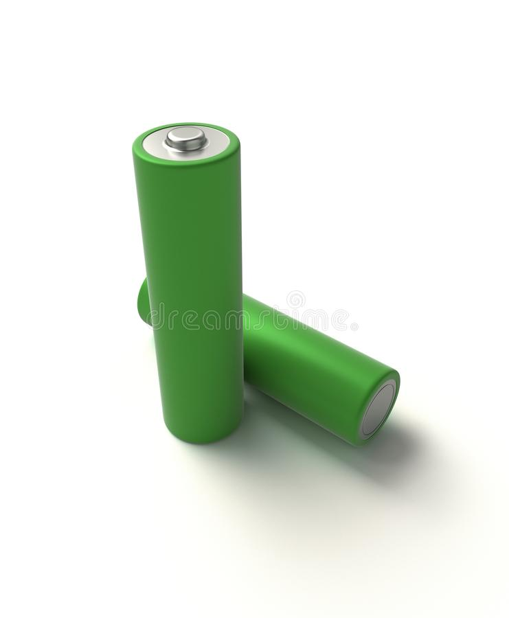 akumulator alkaliczna fotografia stock