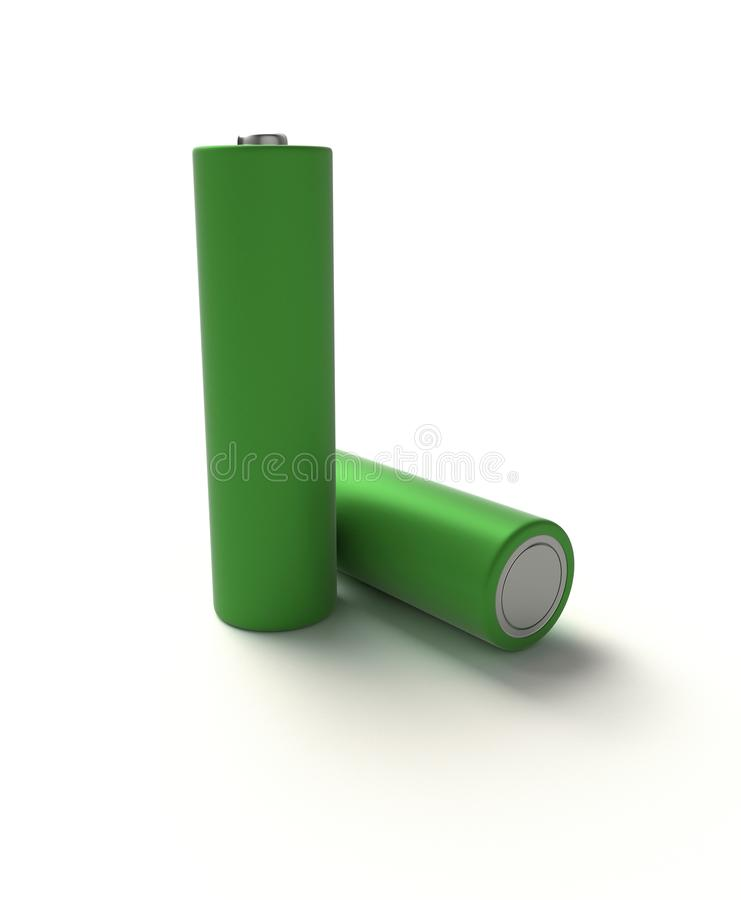 akumulator alkaliczna obrazy stock