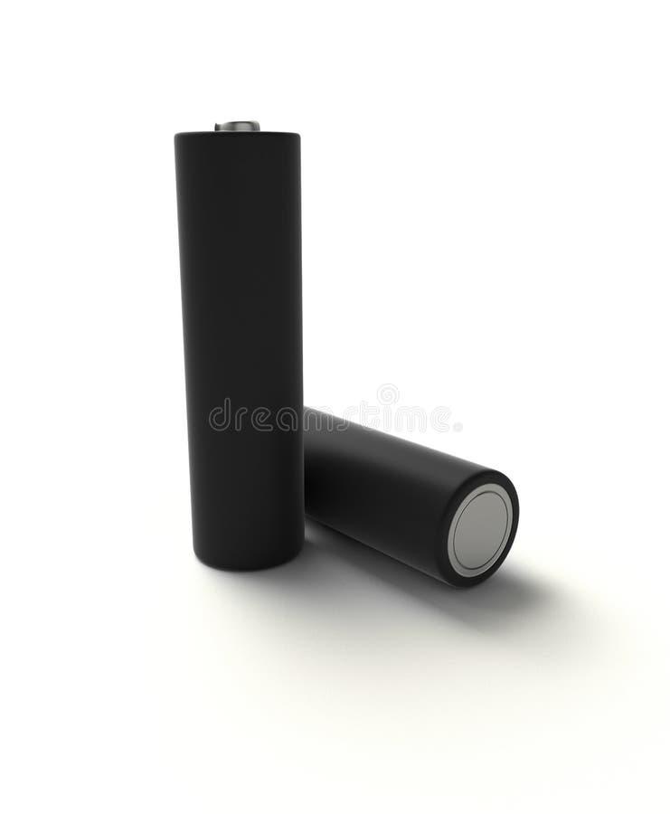 akumulator alkaliczna zdjęcia stock