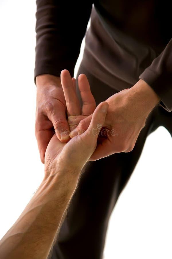 akupunktura masaż obrazy royalty free