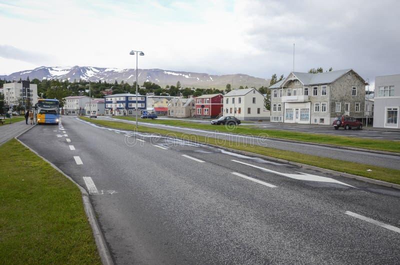 Akureyri, Islande photographie stock libre de droits