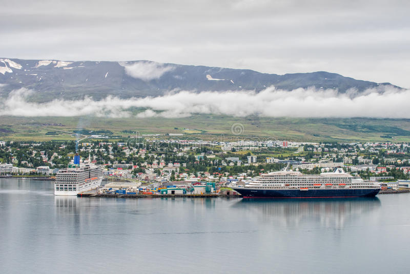 Akureyri, Islande photo stock