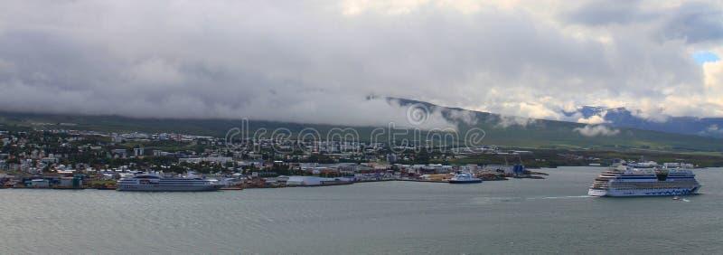 Akureyri, Islande du nord image stock