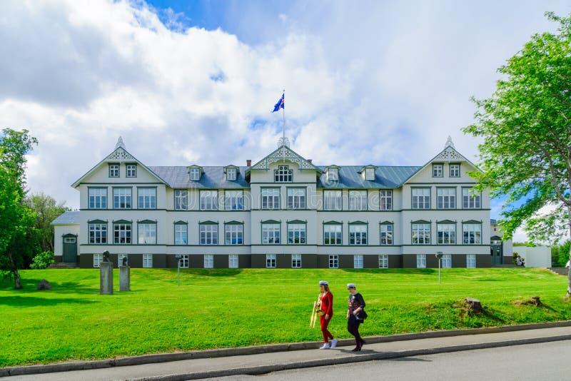 Akureyri Junior College fotografering för bildbyråer