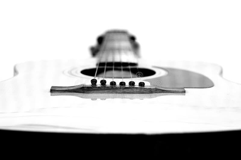 Akustikgitarre lizenzfreies stockbild