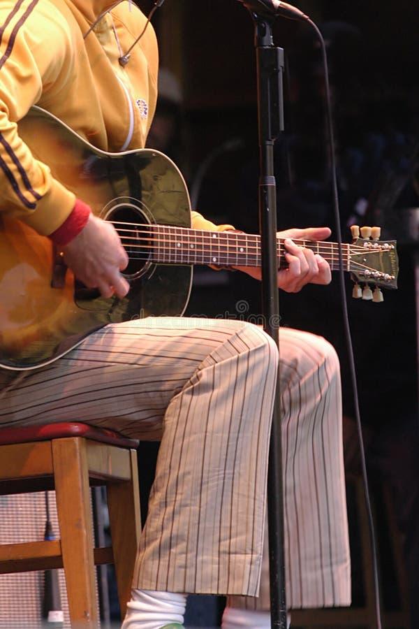 Download Akustikgitarre stockfoto. Bild von musikalisch, finger, hand - 48776