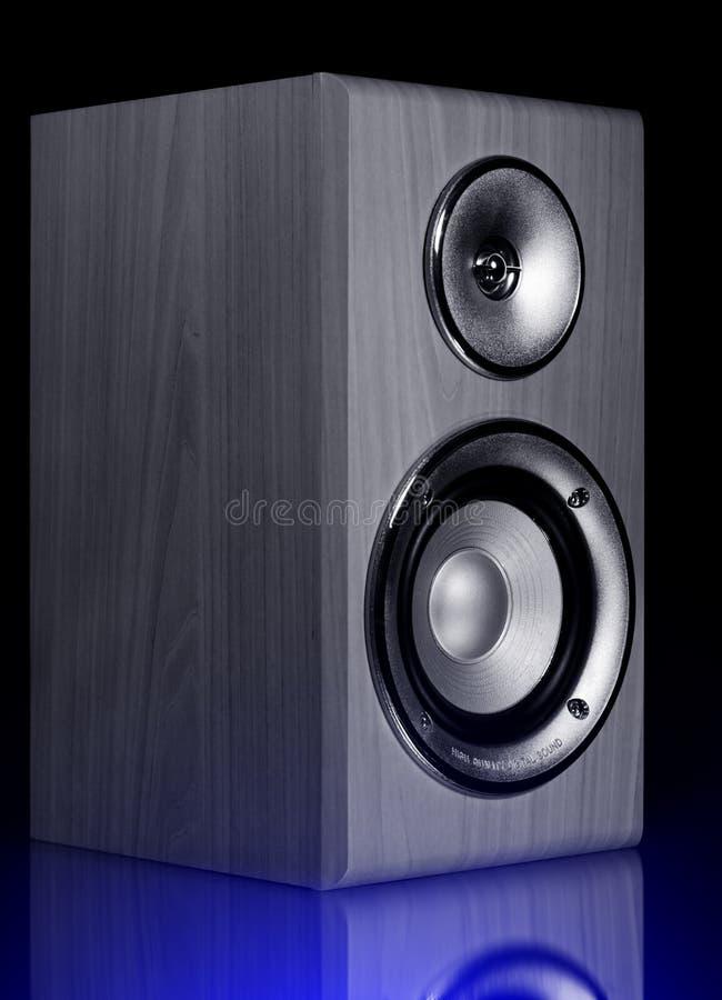 Akustischer Lautsprecher lizenzfreie stockfotografie