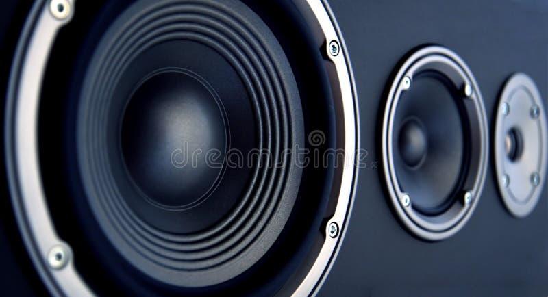 Akustisches System lizenzfreie stockfotos