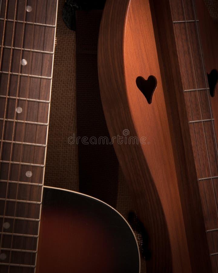 Akustisk förälskelse arkivbilder