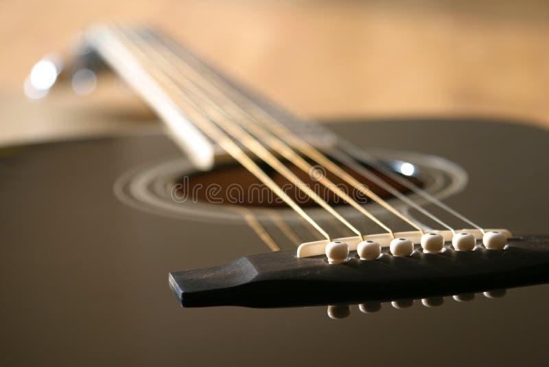 akustisk gitarr royaltyfri fotografi