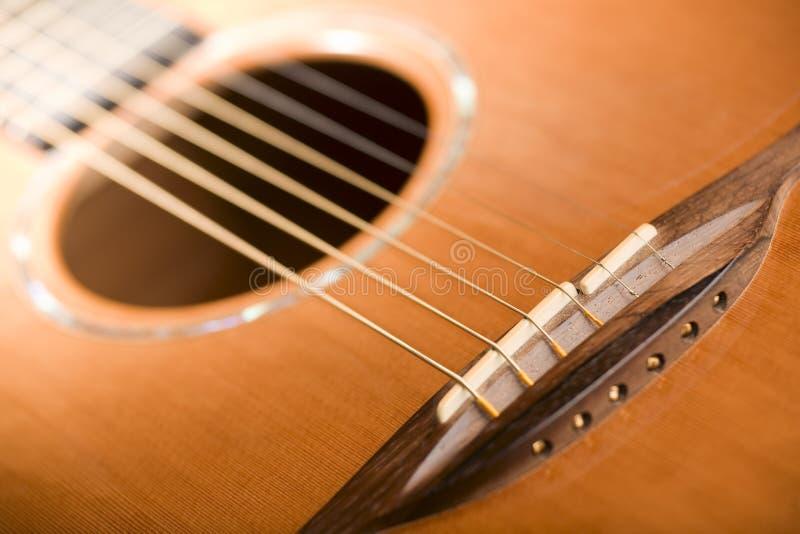 akustyczna bridżowa gitara obrazy royalty free
