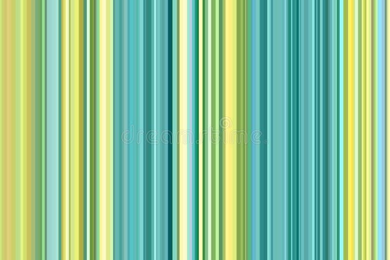 Akvamarin för hav hav, sömlös bandmodell för turkos Abstrakt dekorativ illustration, designmall med linjer Backgroun vektor illustrationer