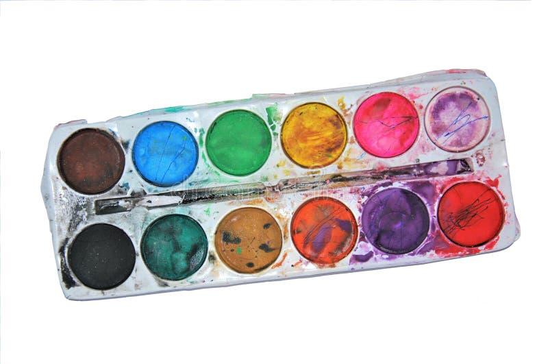 AKVAREL ΧΡΩΜΑ: Watercolor στοκ εικόνα
