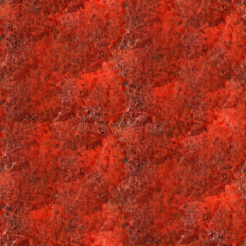 Akvarell för klick för målarfärg för Art The röd vattenfärgfärgpulver arkivbilder