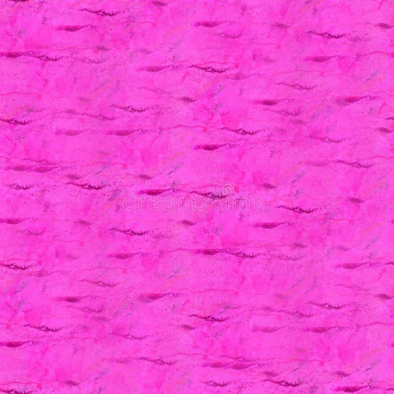 Akvarell för klick för målarfärg för Art The rosa vattenfärgfärgpulver arkivbild