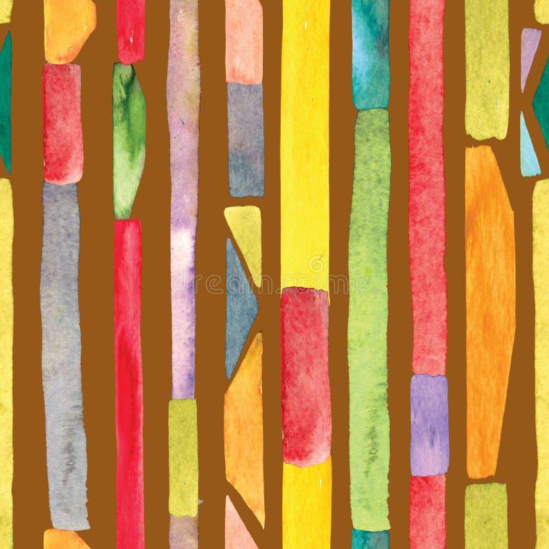 Akvarellbandbakgrund stock illustrationer