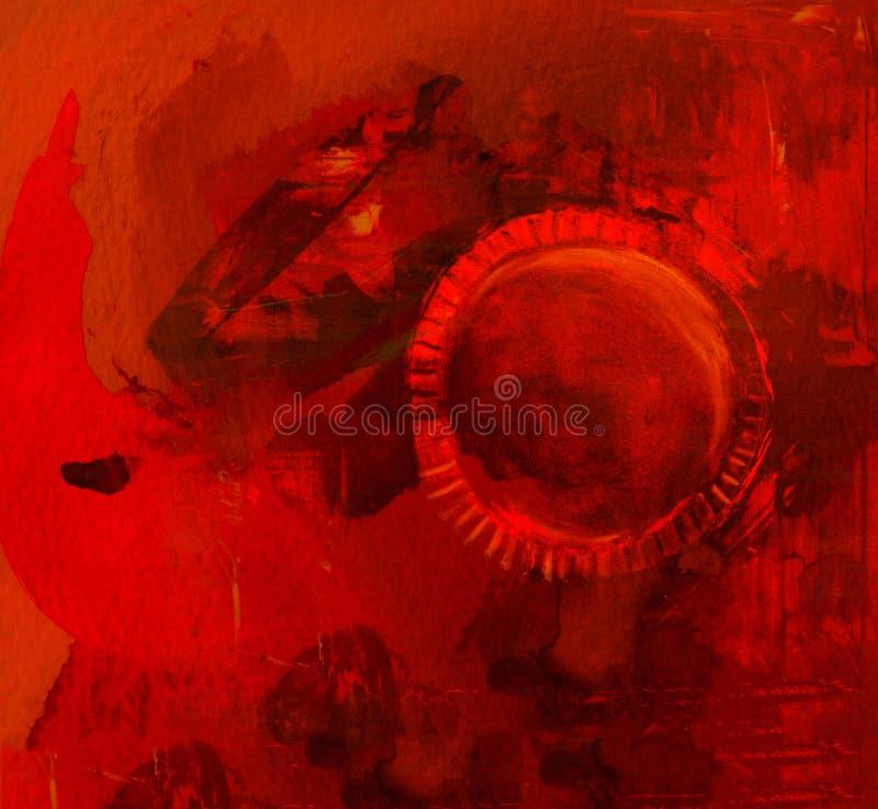 Akwarela abstrakt obrazy royalty free