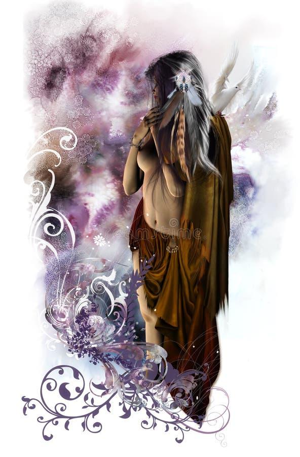 akwarela marzeń ilustracja wektor