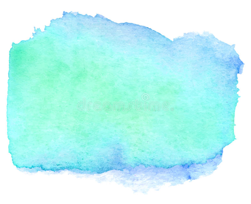 Akwareli cyraneczki sztandar ilustracja wektor