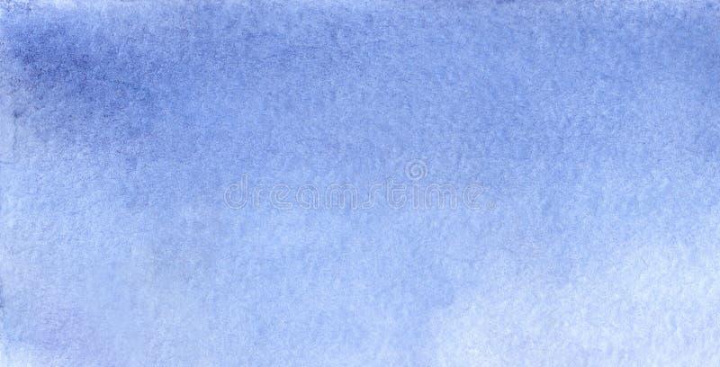 Akwareli nieba szablonu tekstury bławy tło ilustracji