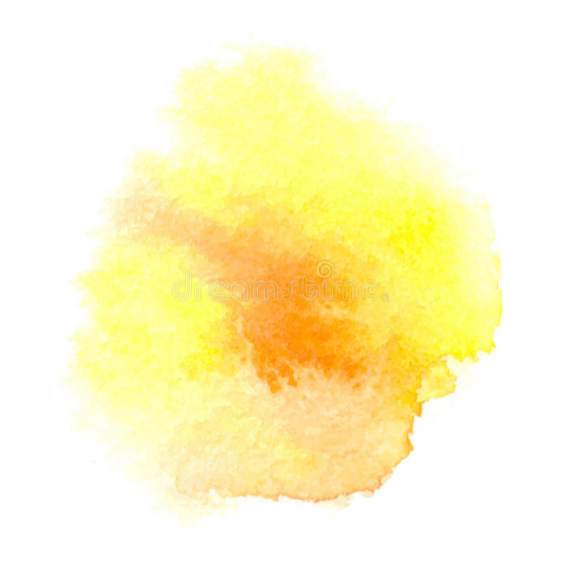 Akwareli pomarańcze tło royalty ilustracja