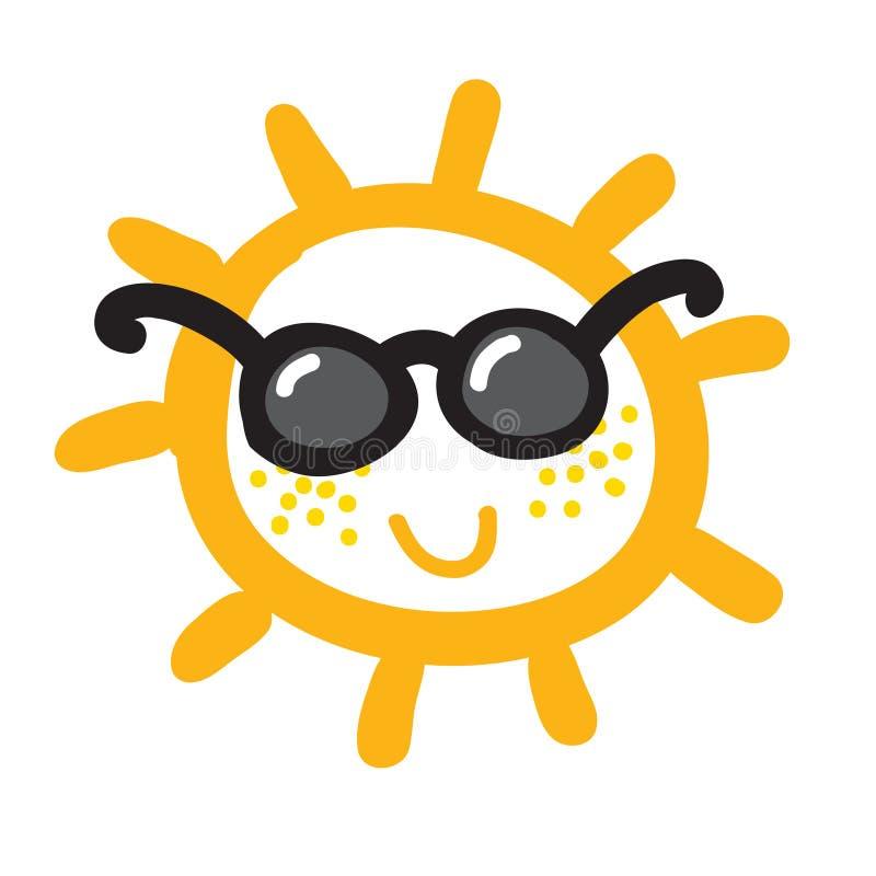 Download Akwareli Słońce, Promień Ikony Zbliżenia Płaska Sylwetka Ilustracja Wektor - Ilustracja złożonej z tło, jaskrawy: 57663212