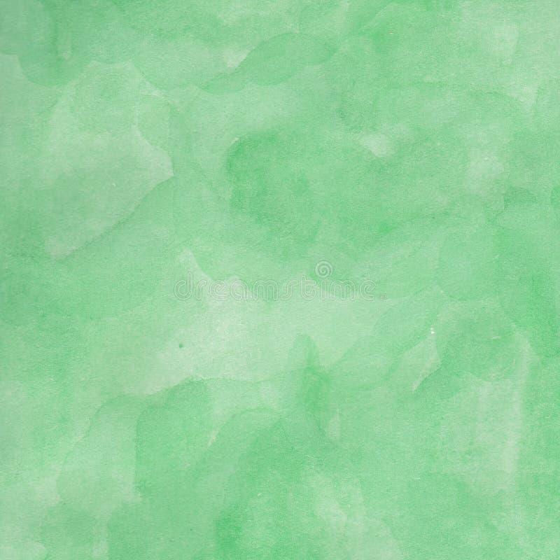 Akwareli tła ręka rysująca lasowa zieleń ilustracja wektor