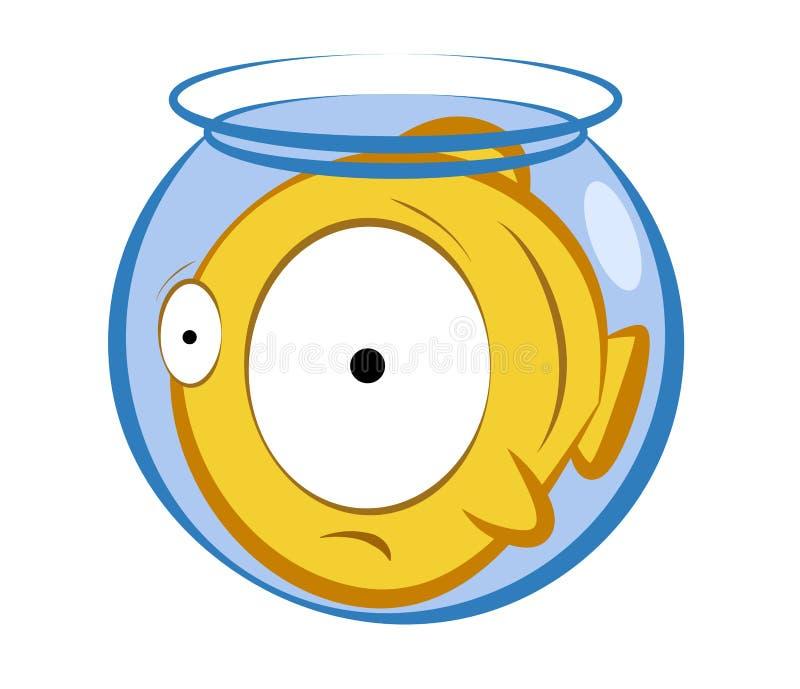 Akwarium ryba ilustracja wektor
