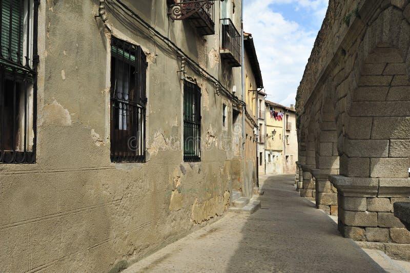 akwedukt rzymski Segovia Spain zdjęcie royalty free