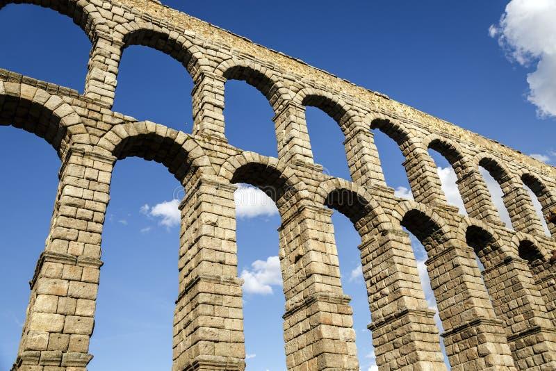 Akwedukt Segovia obraz stock