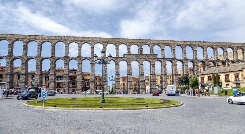 Akwedukt Segovia zdjęcia stock
