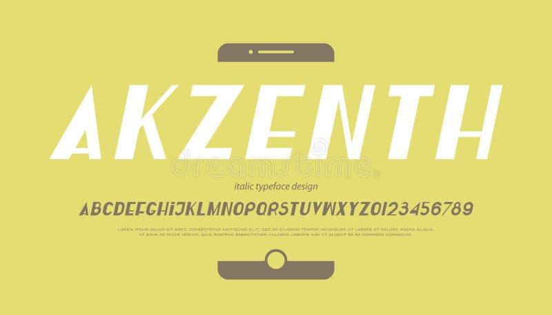 Akzenth курсивом бесплатная иллюстрация