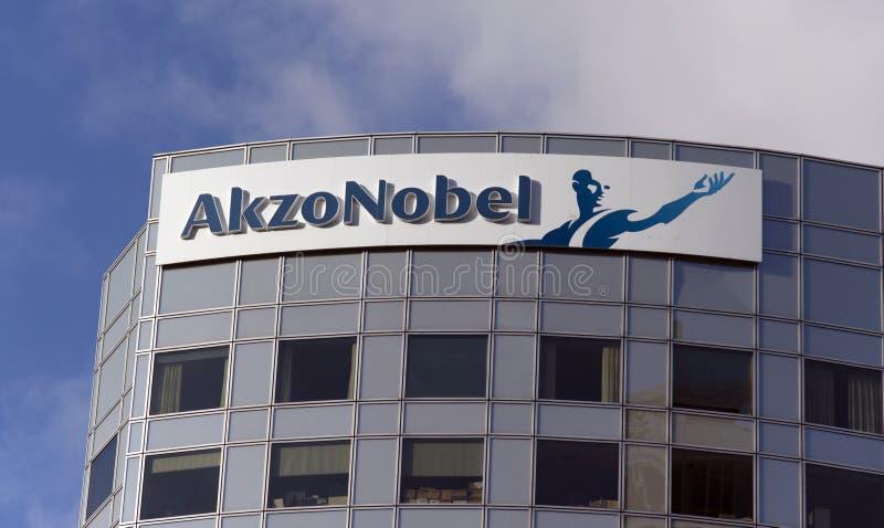 Akzo Nobel ist Holländer stockfoto