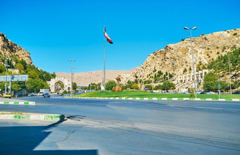 Alá Akbar Gorge, Shiraz, Irán imagen de archivo libre de regalías