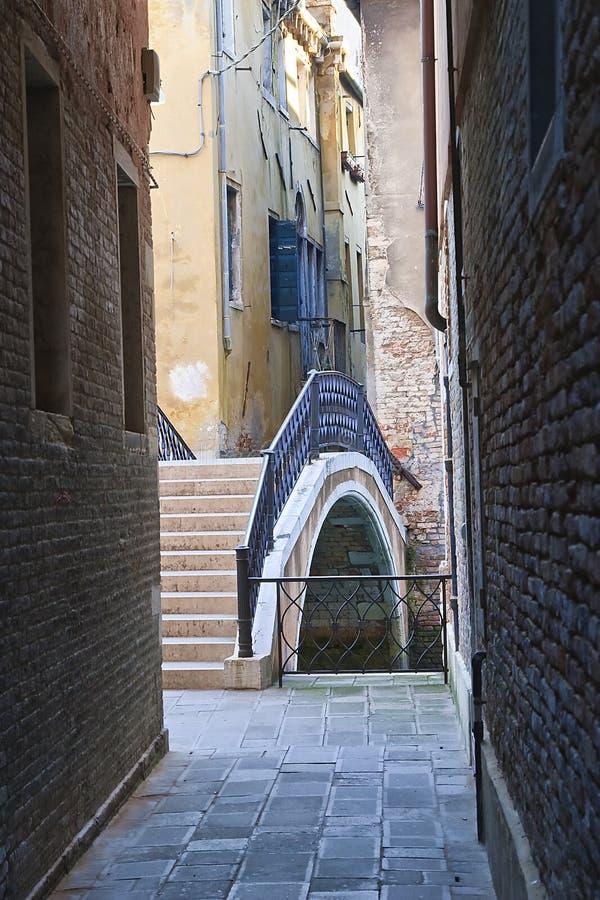 Aléia de Veneza imagem de stock