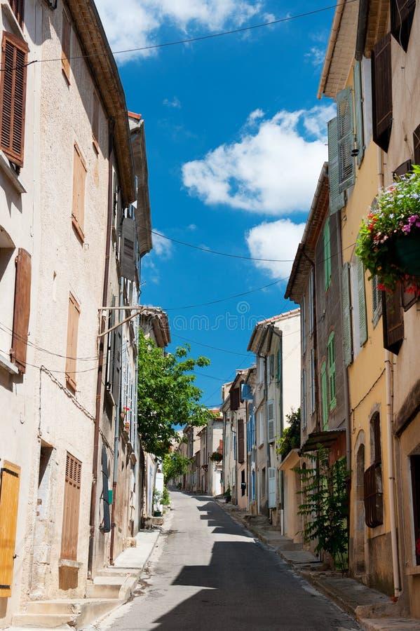 Aléia francesa romântica imagem de stock