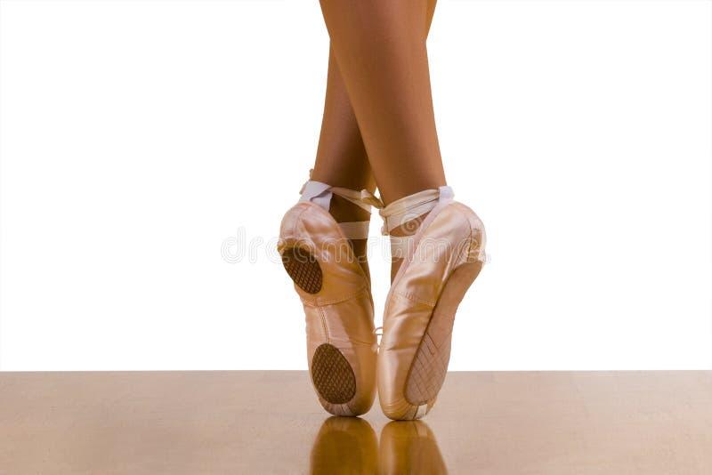 Al不对称的舞蹈鞋子 免版税库存照片