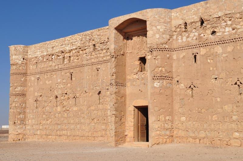Al城堡harraneh 免版税库存照片