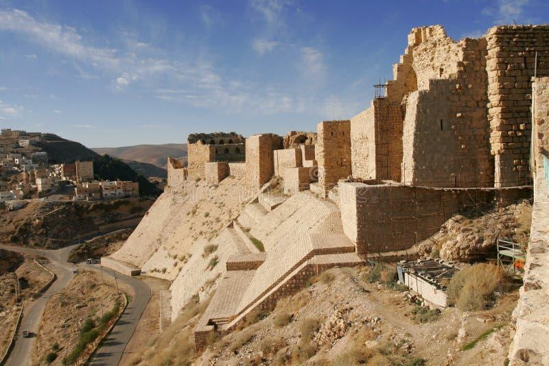 Al城堡karak 免版税库存图片