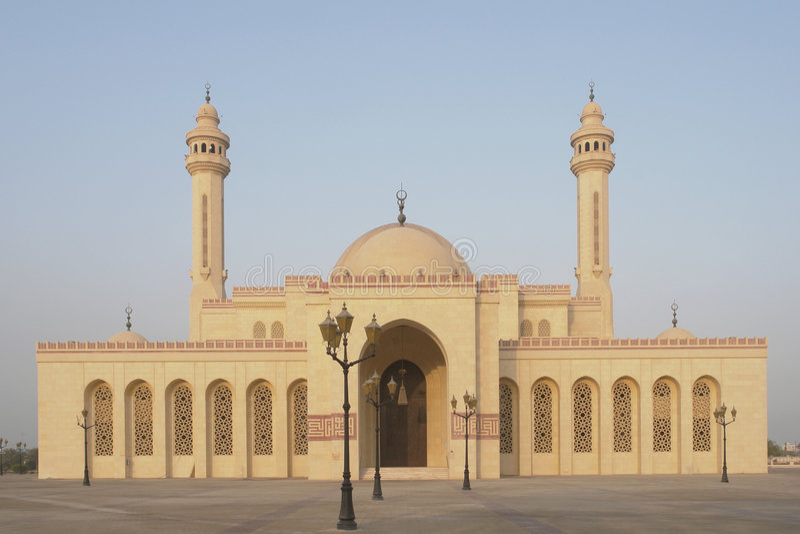 Al巴林fateh全部清真寺 免版税图库摄影