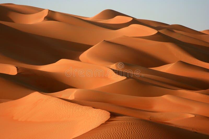 Al沙丘khali魔术磨擦 免版税库存图片