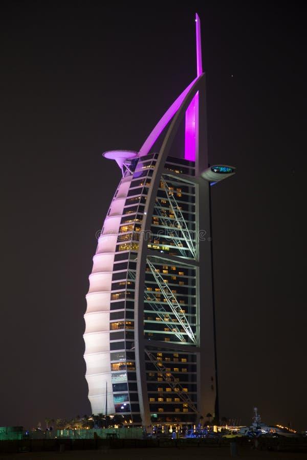 Al阿拉伯人burj 库存照片